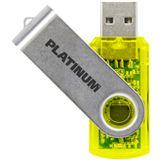 8 GB Platinum Twister gelb USB 2.0