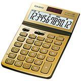 Casio Tisch Taschenrechner JW-200TW gold