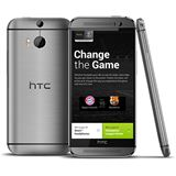 HTC One (M8) 16 GB silber