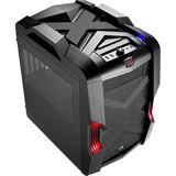 AeroCool Strike-X Cube Black Edition mit Sichtfenster Wuerfel ohne Netzteil schwarz