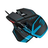 Mad Catz R.A.T TE USB schwarz/blau (kabelgebunden)