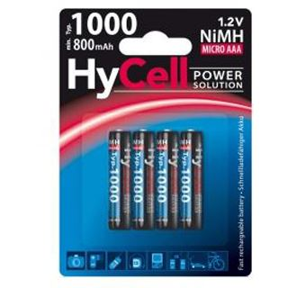 ANSMANN X4 Energy AAA / Micro Nickel-Metall-Hydrid 1000 mAh 4er Pack