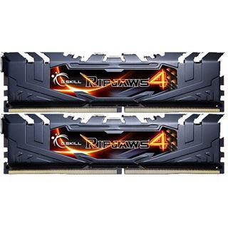 8GB G.Skill RipJaws 4 schwarz DDR4-3000 DIMM CL15 Dual Kit