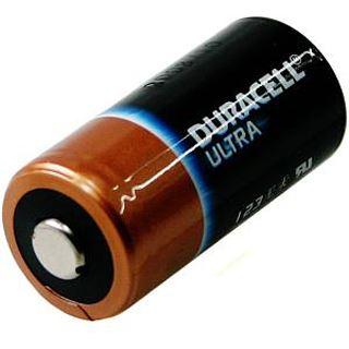 Duracell Foto Batterie Lithium (DL 123) für Foto, Digital-, MP3 Geräte, 1er Blister