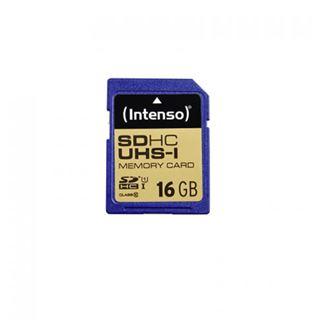 16 GB Intenso 3421470 SD Class 10 U1 Retail