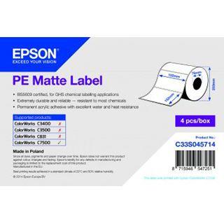 Epson PE Matte Label
