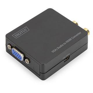 Digitus VGA zu HDMI Konverter inkl. Audioübertragu