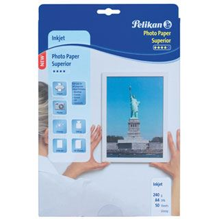Pelikan Fotopapier Superior Din A4 glänzend 50 Blatt