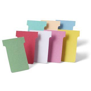 nobo T-Karten, Größe 3 / 92 mm, 170 g/qm, gelb