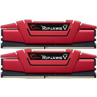 32GB G.Skill RipJaws V rot DDR4-3333 DIMM CL16 Quad Kit