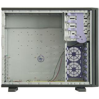 Chieftec Mesh CH-01B-B-SL Midi Tower ohne Netzteil schwarz/silber