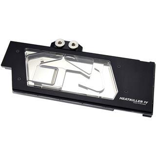 Watercool Heatkiller IV für GTX 1080 und 1070 - schwarz, Acryl+Nickel