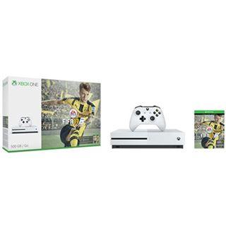 Microsoft Xbox One S 500 GB + FIFA 17 weiß