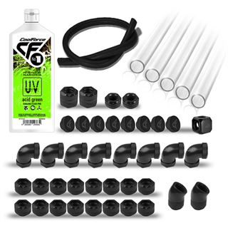 Nanoxia PETG Starter Pack - UV Acid Green