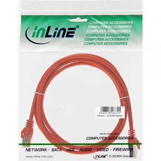 (€0,98*/1m) 5.00m InLine Cat. 5e Patchkabel SF/UTP RJ45 Stecker auf RJ45 Stecker Orange