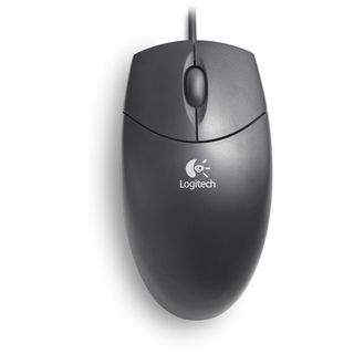 Logitech Optical Wheel Mouse USB schwarz bulk U96