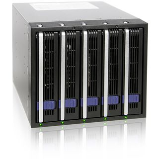 "Icy Dock MB455SPF-B 3.5"" (8,89cm) SATA schwarz"