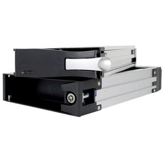 "Icy Dock 5,25"" Wechselrahmen für 3.5"" Festplatten (MB123SK-1B)"