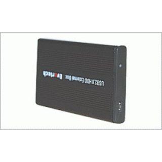 """2.5""""(6,35cm) Evertech ET-1570 Alu IDE USB 2.0 Schwarz"""