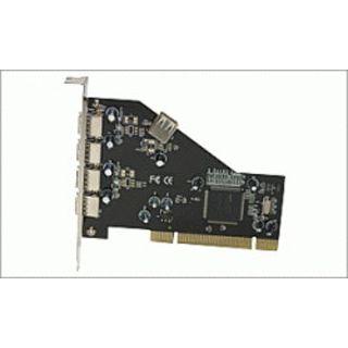 Evertech PCI0001 NEC 4+1xUSB2.0 USB PCI-Karte