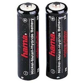 Hama Akkus AA / Mignon Nickel-Metall-Hydrid 1100 mAh 2er Pack