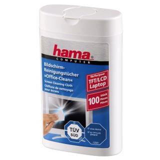 Hama LCD/TFT Reinigungstücher, 100 Stück