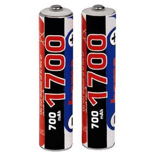 Hama Akkus AAA / Micro Nickel-Metall-Hydrid 700 mAh 2er Pack