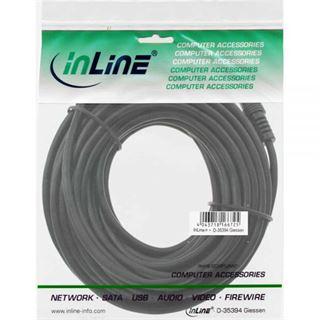 (€0,49*/1m) 10.00m InLine Audio Anschlusskabel 3.5mm Klinken-Stecker auf 3.5mm Klinken-Stecker Schwarz