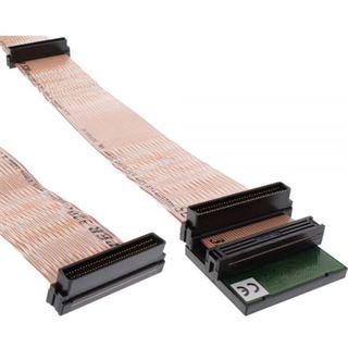 (€89,20*/1m) 0.75m InLine Flachbandkabel Anschlusskabel 68pol Stecker auf 68pol Stecker Schwarz mit Terminator
