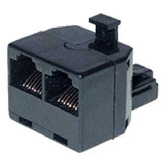 InLine SDN-Verteiler 1x RJ45 Bu an 2x RJ45 Bu, ohne Endwiderstand