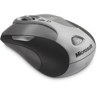 Microsoft Wireless 8000 Presenter Laser Maus Grau USB