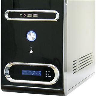 µATX Inter-Tech Black Sea IT-8405 Mini Tower o.NT Schwarz