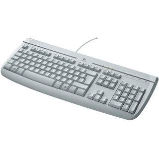Logitech 350 Internet Tastatur Weiß Deutsch PS/2 OEM