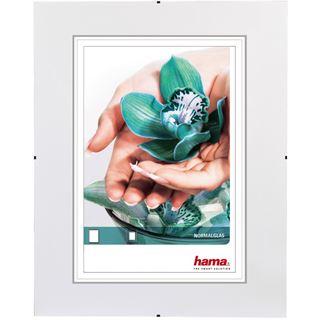 """Hama rahmenloser Bilderhalter """"Clip-Fix"""" 50x70cm für Bilder mit 30x45cm Normalglas"""