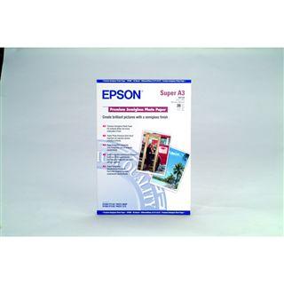 Epson Premium Semigloss Fotopapier (20 Blatt)