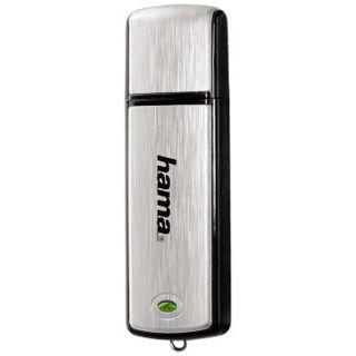 """4 GB Hama FlashPen """"Fancy"""" silber USB 2.0"""