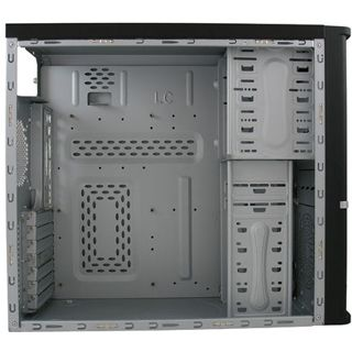 LC-Power PRO-907B Midi Tower ohne Netzteil schwarz