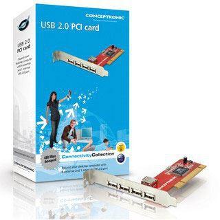 Conceptronic I/O PCI USB 2.0 4+1Port