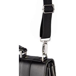 Hama Tasche Aktentasche 17 schwarz Leder