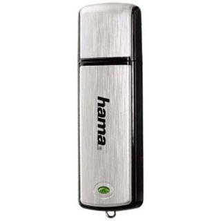 """2 GB Hama FlashPen """"Fancy"""" silber USB 2.0"""