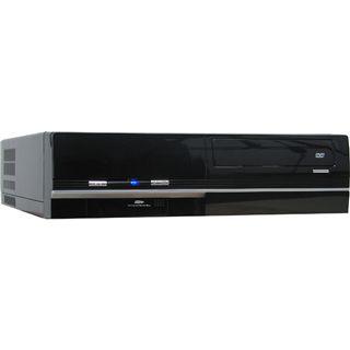 µATX Inter-Tech Arris A1B Desktop Gehäuse 350 Watt Schwarz
