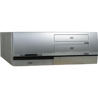ATX Inter-Tech Arris A2S Desktop Gehäuse 420 Watt Silber