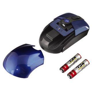 Hama Wireless M644 Optische Maus Blau USB