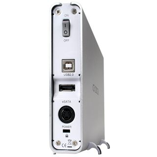 "3.5""(8.89cm) Icy Dock MB-664US-1S SATA USB Silber"