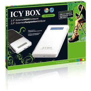 "ICY BOX IB-220U-Wh 2.5"" (6,35cm) USB 2.0 weiss"