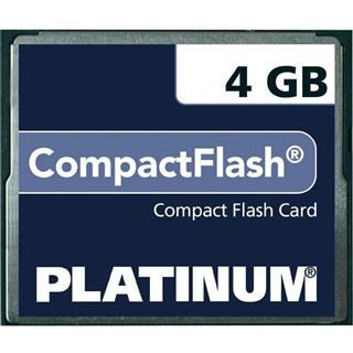 4 GB Platinum BestMedia Compact Flash TypI 40x Retail
