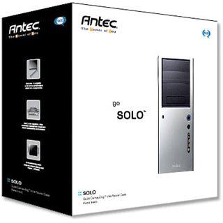 Antec Lifestyle Solo Mini Tower ohne Netzteil schwarz/silber