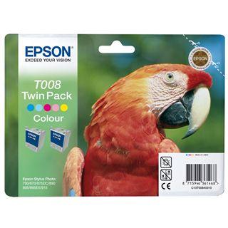 Epson C13T008403 Farbig 2x 46ml Kit
