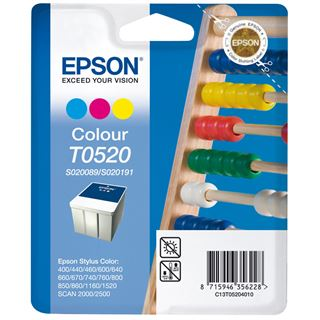 Epson Tinte C13T05204010 cyan/magenta/gelb