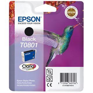 Epson Tinte T0801 C13T08014010 schwarz